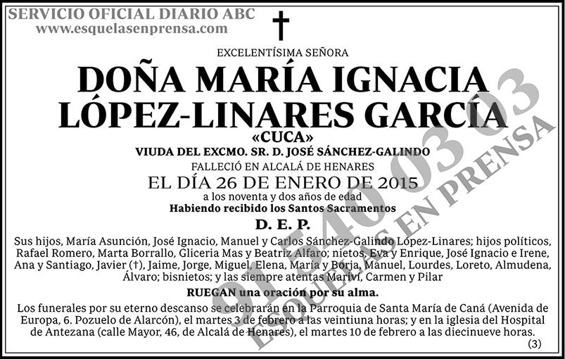 María Ignacia López-Linares García
